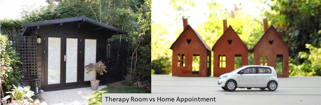 Therapy Room or Home Appointment: which is best?